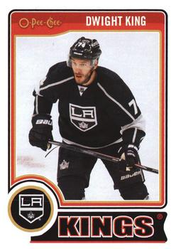 2014-15 O-Pee-Chee #93 Dwight King Front