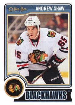 2014-15 O-Pee-Chee #134 Andrew Shaw Front