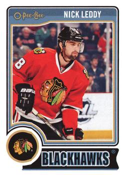 2014-15 O-Pee-Chee #196 Nick Leddy Front