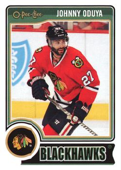 2014-15 O-Pee-Chee #367 Johnny Oduya Front