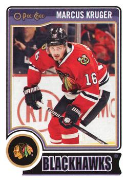 2014-15 O-Pee-Chee #430 Marcus Kruger Front