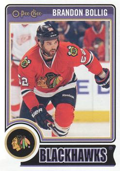 2014-15 O-Pee-Chee #452 Brandon Bollig Front