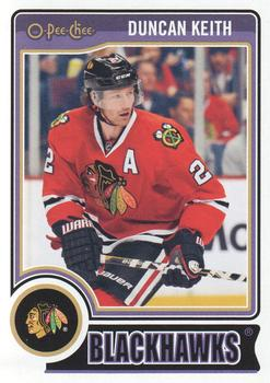 2014-15 O-Pee-Chee #481 Duncan Keith Front