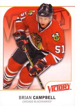 2009-10 Upper Deck Victory #46 Brian Campbell Front