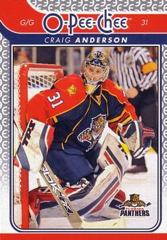 2009-10 O-Pee-Chee #160 Craig Anderson Front