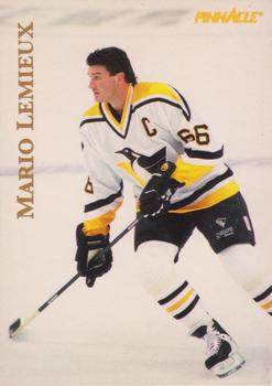1997 Pinnacle Giant Eagle Mario's Moments - Pinnacle Mario's Moments Gold #8 Mario Lemieux Front