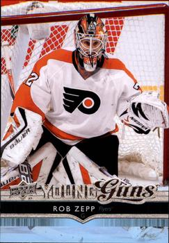 2014-15 Upper Deck #454 Rob Zepp Front