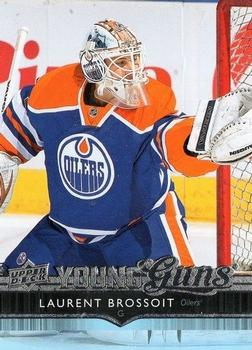 2014-15 Upper Deck #458 Laurent Brossoit Front