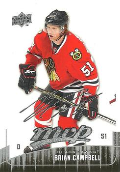 2009-10 Upper Deck MVP #232 Brian Campbell Front