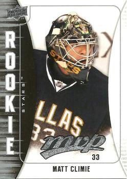 2009-10 Upper Deck MVP #364 Matt Climie Front