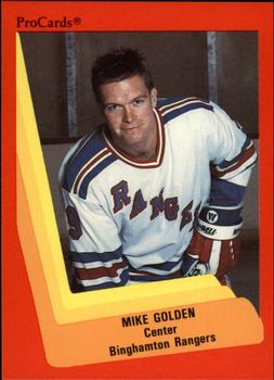 1990-91 ProCards #11 Mike Golden Front