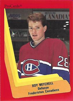 1990-91 ProCards #65 Roy Mitchell Front