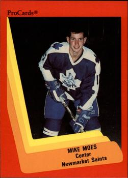 1990-91 ProCards #148 Mike Moes Front