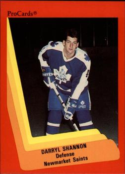 1990-91 ProCards #151 Darryl Shannon Front
