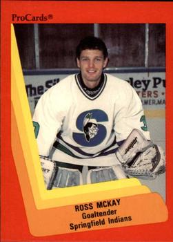 1990-91 ProCards #177 Ross McKay Front