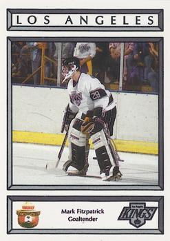 1988-89 Los Angeles Kings Smokey #8 Mark Fitzpatrick Front