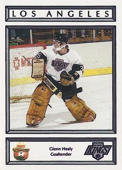 1988-89 Los Angeles Kings Smokey #13 Glenn Healy Front