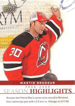 Martin Brodeur Gallery The Trading Card Database