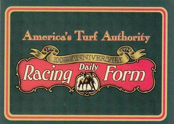 1993 Horse Star Daily Racing Form 100th Anniversary Misc