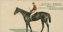 1889 Kinney Brothers Famous Running Horses/American (N229) #NNO Parole Front