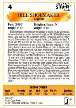 Sam Renick trading card Horse Racing 1991 Jockey Star #19