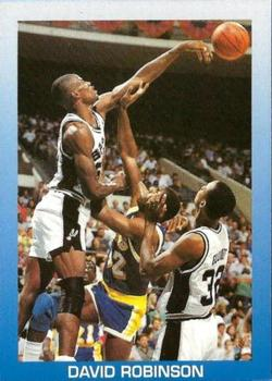 1989-90 All-Sports Superstars Series 1 - 4 (Unlicensed) #NNO David Robinson Front