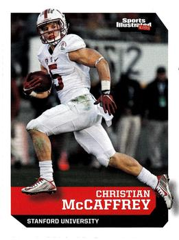 2016 Sports Illustrated for Kids #526 Christian McCaffrey Front