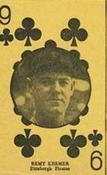 1927 Playing Cards (W560) #NNO Ray Kremer Front