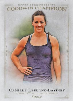 2016 Upper Deck Goodwin Champions Minis Royal Red #132 Camille Leblanc-Bazinet Sports Trading Cards