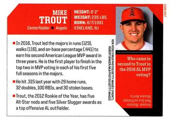 2017 Sports Illustrated for Kids #617 Mike Trout Back
