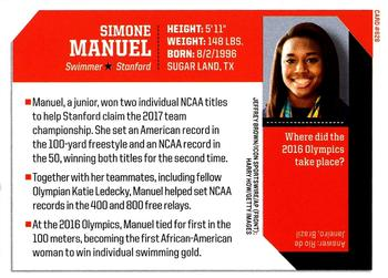 2017 Sports Illustrated for Kids #628 Simone Manuel Back