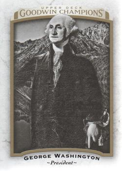 2017 Upper Deck Goodwin Champions #1 George Washington Front