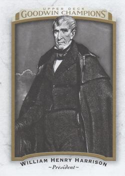 2017 Upper Deck Goodwin Champions #9 William Henry Harrison Front