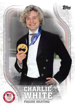 2018 Topps US Olympics & Paralympic Hopefuls #USA-40 Charlie White Front