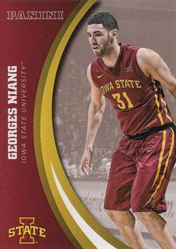 2017 Panini Iowa State University #8 Georges Niang Front