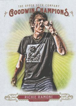2018 Upper Deck Goodwin Champions #5 Richie Ramone Front