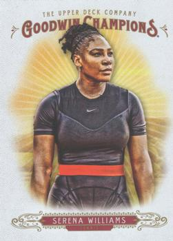 2018 Upper Deck Goodwin Champions #10 Serena Williams Front