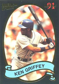 1991 American Sports Monthly #33 Ken Griffey Jr. Front