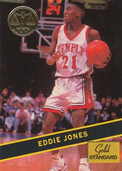1994 Signature Rookies Gold Standard #9 Eddie Jones Front