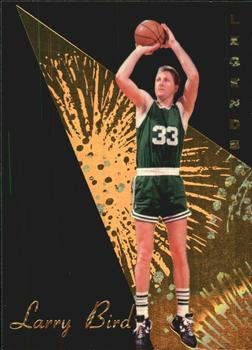 1994 Signature Rookies Gold Standard - Legends #L2 Larry Bird Front