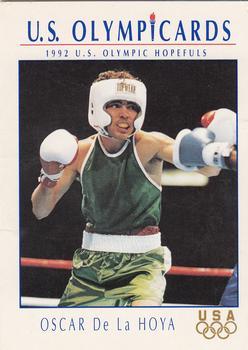 Oscar De La Hoya 1998 Futera Boxing Card