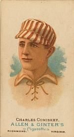 1887 Allen & Ginter World's Champions (N28) #NNO Charles Comiskey Front
