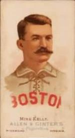 1887 Allen & Ginter World's Champions (N28) #NNO Mike Kelly Front