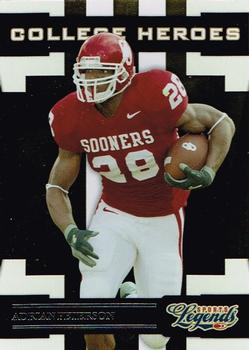 2008 Donruss Sports Legends - College Heroes #CH-3 Adrian Peterson Front