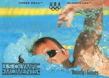 1996 Upper Deck USA Olympicards #75 Rowdy Gaines Front