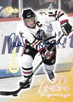 1996 Classic Visions Signings - Autographs Silver #11 Daniel Briere Front