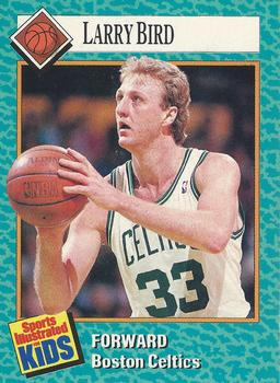1989 Sports Illustrated for Kids #4 Larry Bird Front