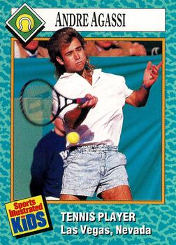 adcc408292ae15 1989 Sports Illustrated for Kids  47 Andre Agassi