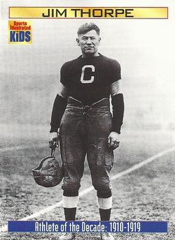 2000 Sports Illustrated for Kids #867 Jim Thorpe Front