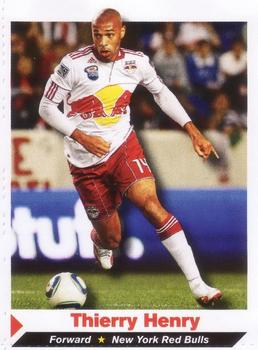 2011 Sports Illustrated for Kids #2 Thierry Henry Front